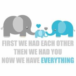 naklejki słonie