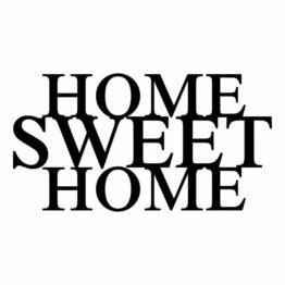 DEKORACJA ŚCIENNA HOME SWEET HOME