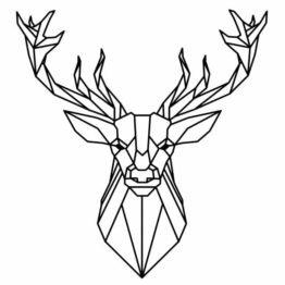 naklejka jeleń