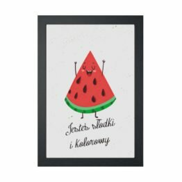 plakaty do kuchni arbuz