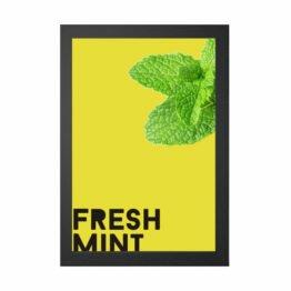 fresh mint poster