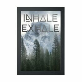 plakat inhale exhale poster