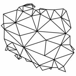 mapy geometryczna polska