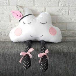 poduszka dekoracyjna chmurka handmade